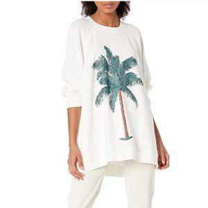 Show Me Your Mumu Palm Graphic Sweatshirt